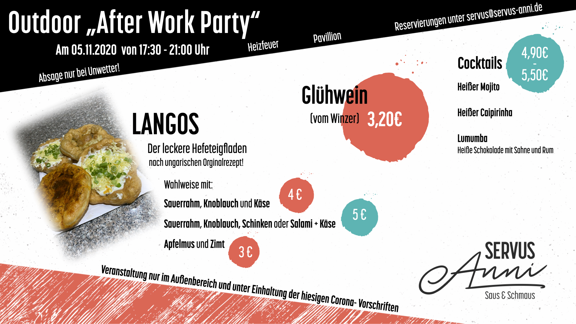 """Outdoor """"After Work Party"""""""