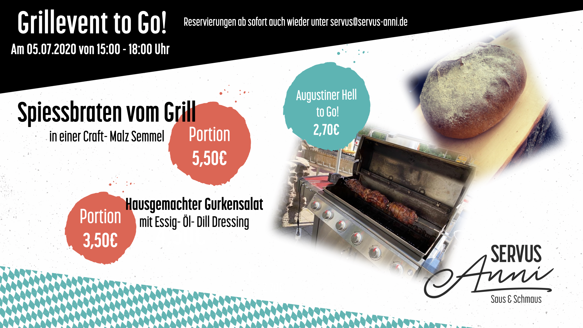 Grillevent to Go!